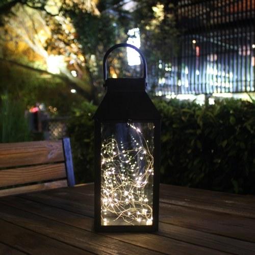 Tomshine Медный провод Солнечная энергия Энергия Фонарь Фея Струнный свет Висящая наружная лампа