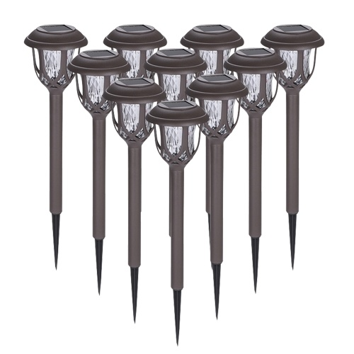 Tomshine 10 Pack Solar Powered Lawn Lights LED Water Ripple Garden Lamp IP44 Water-resistant Outdoor Landscape Light for Lawn Patio Yard