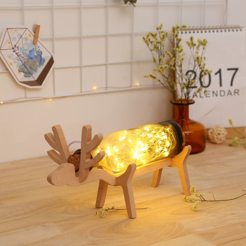 Creative Fire Tree Simple Bedside Night Lamp Romantic Present Starlight Filled the Sky Bedroom Living Room LED Table Lights