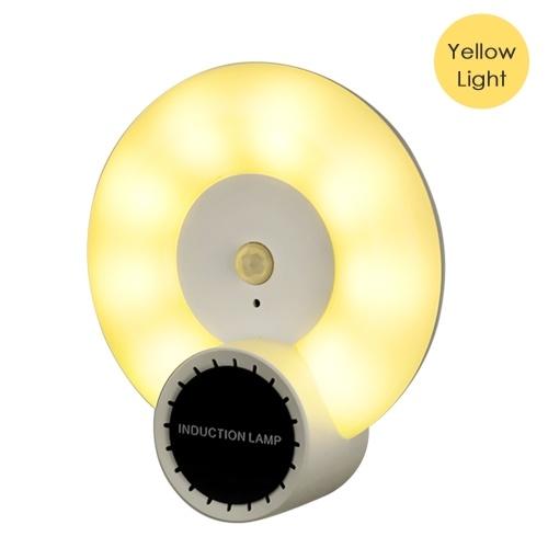 Aromatherapy Motion Sensor Wall Lamp Led Night Light Human Body Induction Lamp