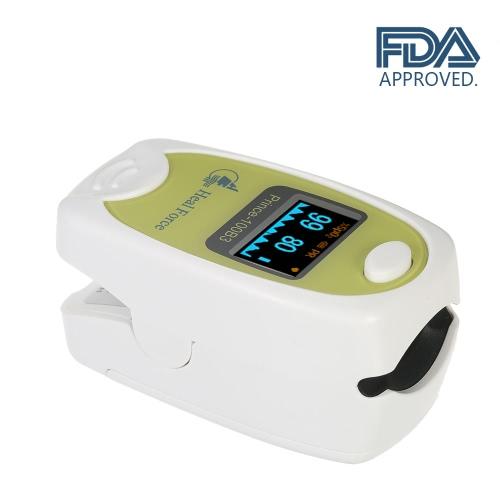 Heal Force Medical OLED - Medidor de saturación de oxígeno de sangre