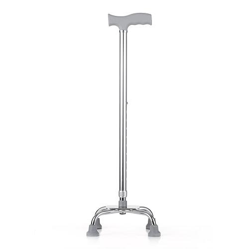 調節可能な歩行可能な杖アルミニウム軽量ウォーキングスティックTハンドルアンチスライド右または左手の使用