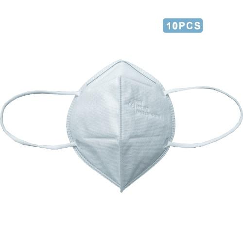 10 Pcs FFP2 KN95 Disposable Shield Dustproof Anti-fog Sanitary 4-Layers Face Mas k Breathable Mouth for Dust (EN149:2001+A1 2009)
