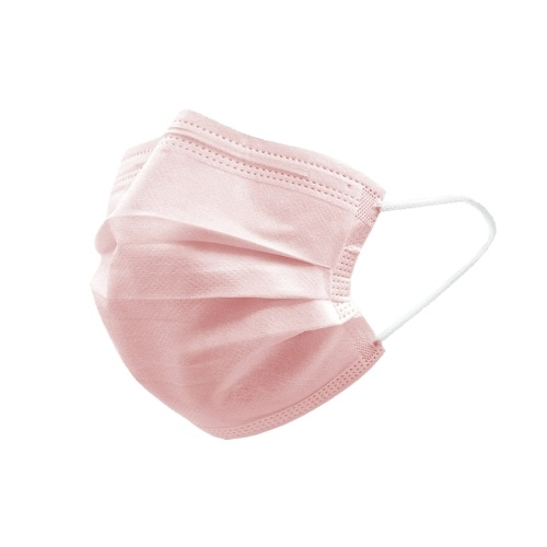 50PCS Disposable Mask Non-Woven Masks 3-Layer Comfortable Sanitary Mask Anti-dust Mouth Face Mask Pink