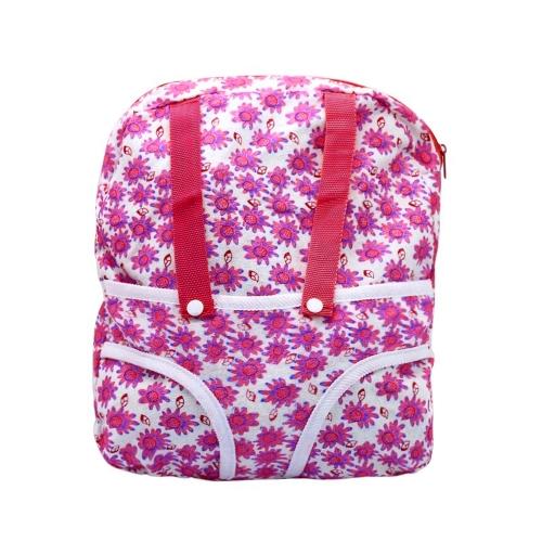 Исходящие пакеты Кукла Цветочный рюкзак Мягкая портативная детская розовая кукла Аксессуары для девочек
