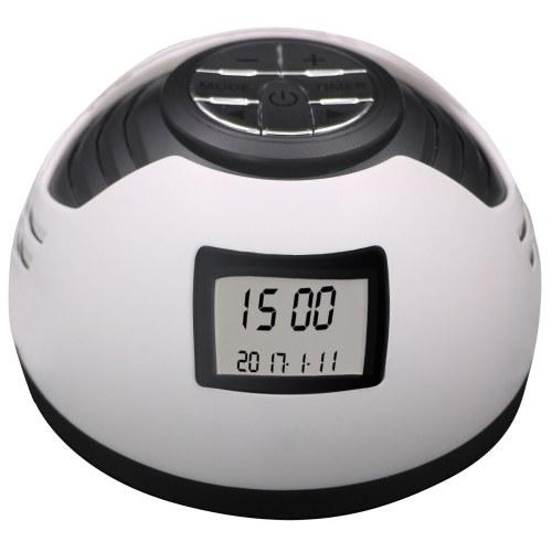 Безвоздушный сон звуковой машины Белый шум с 8 успокаивающими звуками Таймер Будильник для домашнего офиса Путешествия