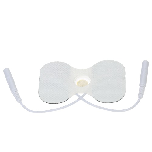 10 Packung Wiederverwendbare Elektrodenpads Selbstklebende Gel Schmetterling Elektroden FDA & CE Genehmigt