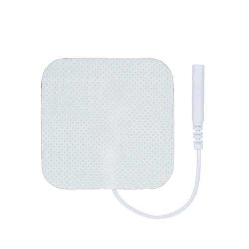Paquete de 20 electrodos cuadrados reutilizables electrodos de gel autoadhesivos FDA y CE aprobados