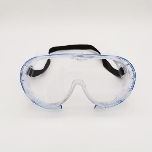Protective Safety Goggles Reusable Vent Reusable Transparent Clear Anti-Fog Dustproof Anti-Splash Eyewear