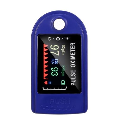 Portable Finger Tip Pulse Oximeter Precise Blood Saturation Detector
