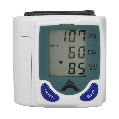 Blutdruckmessgerät Systolischer / diastolischer Druck Pulsfrequenz Handgelenksmessung Family Health Care
