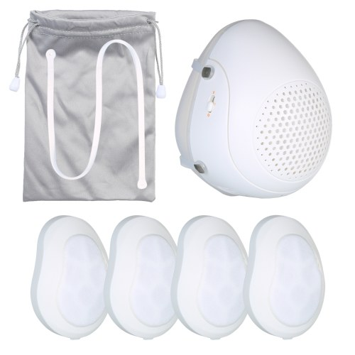 i-mu HD-L01 Half Face Smart Electric Masks with 4PCS Replacement Filters