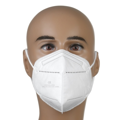 20PCS Folding Face Mask Mouth Face Protection Masks Multifunctional Protective Mask KN95 Safety Mask Dust Mask Facial Protection Device Non-woven Fabrics Face Guard Dustproof 95% Filtration Against Dust Fog and Haze