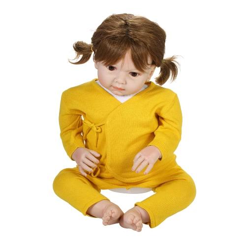 Baby Sweater Suit 2шт Unisex 100% Хлопок Детские наряды Одежда Длинные рукава Длинные брюки Весна Лето Осень Зима для новорожденных Младенческая девочка Мальчик розовый 0-6M