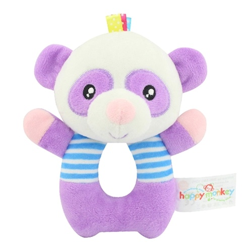 Baby animals hand bell Rattle Series Hand-cranking Good for brain
