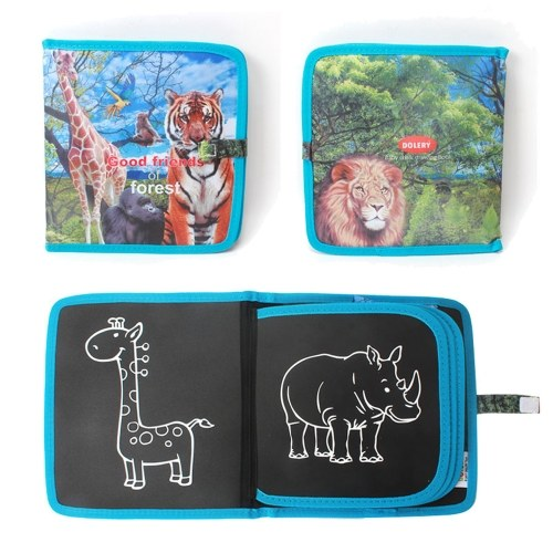 Kids Portable Chalk Board Doodle & Drawing Book