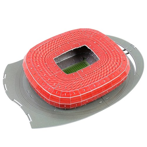 3D Three-dimensional Jigsaw Football Court