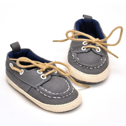 New Baby Newborn Shoes Unisex Soft Cotton Shoes Tying for Baby Learn to Walk at Autumn