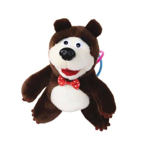 22CM Popular Masha Plush Dolls Cute Bear Alta calidad Ruso Masha Relleno de juguetes