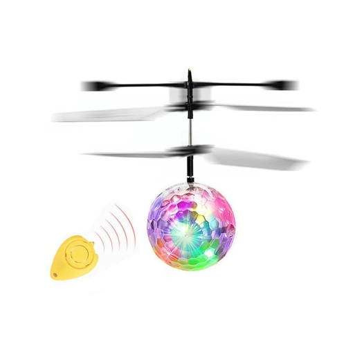 Induction flash flying ball Magic crystal ball Suspension toys with remote control