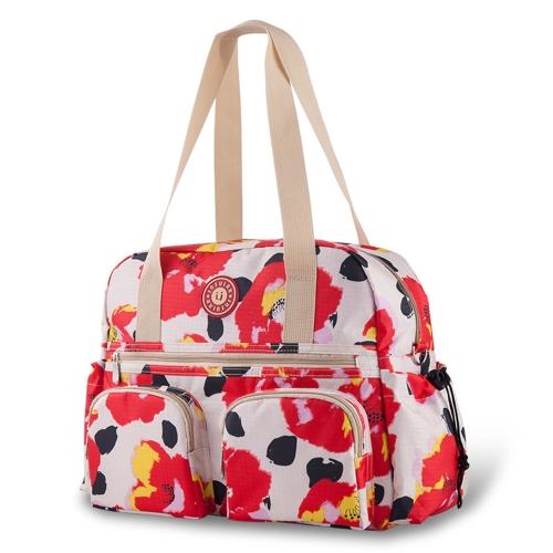 Insular Baby Wickeltasche Handtasche Große Kapazität Mummy Nappy Krankenpflege Tasche Reise für Baby Care Red