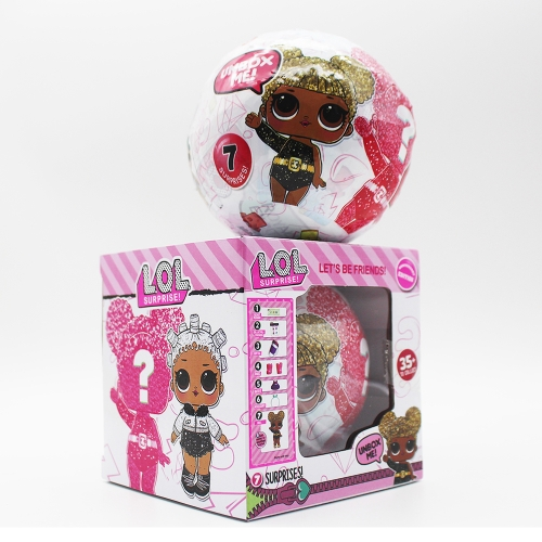 1Pcs L.O.L surprise doll Limited Edition Glitter Collection Series
