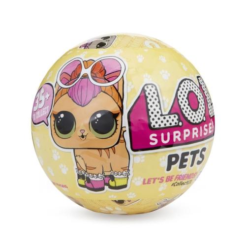 1Pcs L.O.L Surprise Doll Pets Series Egg Toy 9.5CM
