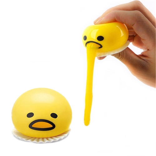 1Pcs Funny Ball Cute Soft Egg Stress Relief Joke Gift