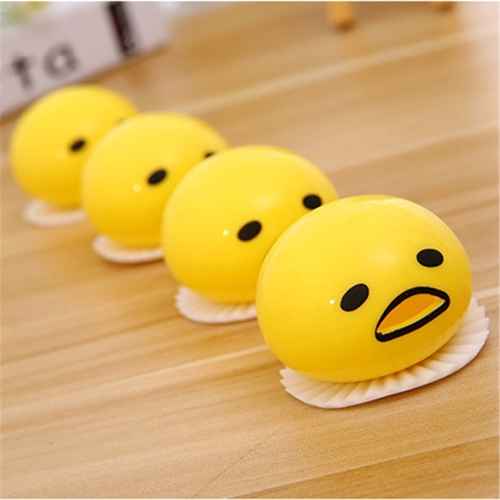 1Pcs Funny Ball Cute Soft Egg sollievo dallo stress sollievo