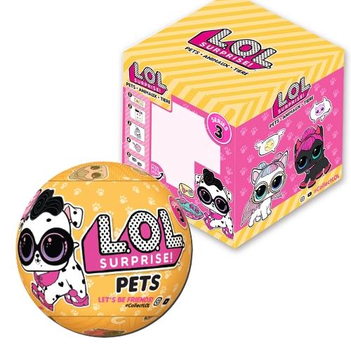 1Pcs LOL Surprise Pets Series 3 Wave 2 с упаковочной коробкой