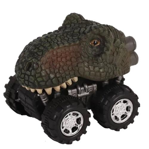 Mini dinozaur samochód zabawka wiosna wycofać model samochodu pojazdu zabawki