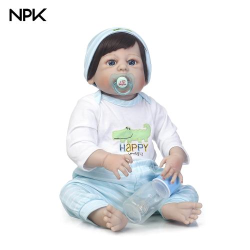 NPK 22in Reborn Baby Rebirth Doll Embroma el dinosaurio del regalo