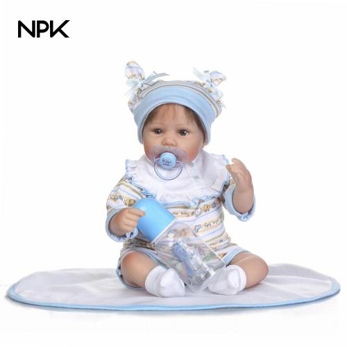 15in Reborn Baby Rebirth Doll Kids Подарок Любящее сердце