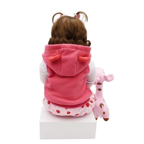 23in Reborn Baby Rebirth Doll Kids Gift Cloth Material Body