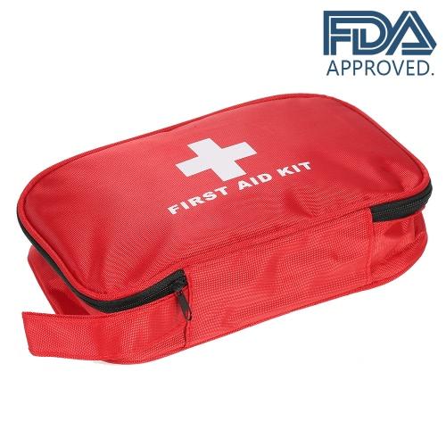 Carevas 180PCS Todos los kits de primeros auxilios a prueba de agua Pupose aprobados por la FDA