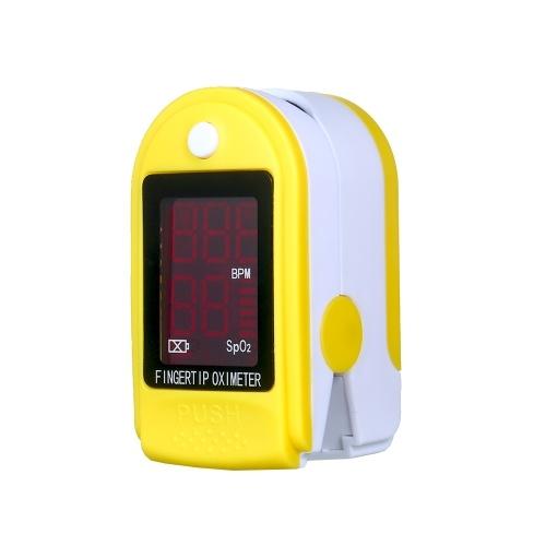 Fingertip Pulse Oximeter Pulse Oximeter Finger Pulse Blood Oxygen SpO2 Monitor