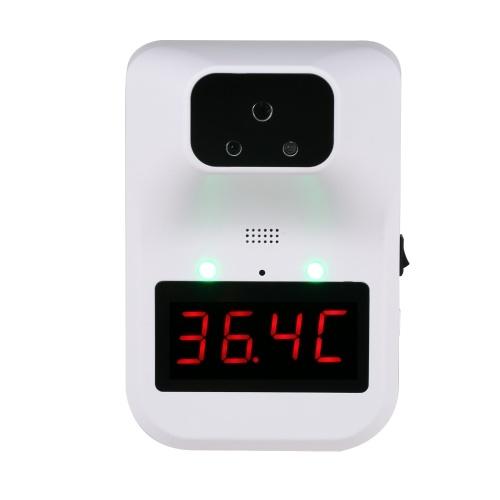 AI赤外線温度計3つの設置2つの電源6つの言語°C /°F本体/オブジェクト温度アラーム温度を設定可能音声オン/オフ温度補償機能