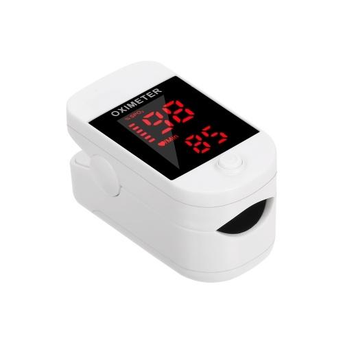 Pulsossimetro digitale da dito Display OLED Sensore di ossigeno nel sangue Saturazione Mini Monitor SpO2 PR Misuratore di misurazione della frequenza del polso per gli amanti dello sport a casa di cura