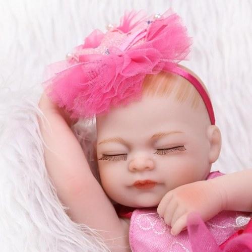 NPKCOLLECTION 10 in Reborn Baby Wiedergeburt Puppe Kinder Geschenk Rose Red