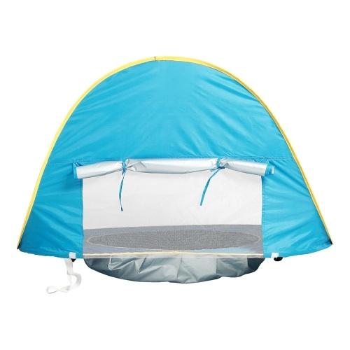 Baby Beach Tent UV-защита Sunshelter с бассейном Водонепроницаемая всплывающая тентная палатка