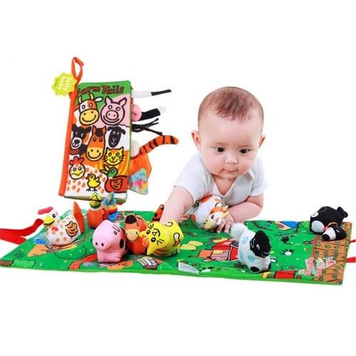 Juguetes educativos para bebés de aprendizaje temprano Libros para contar historias