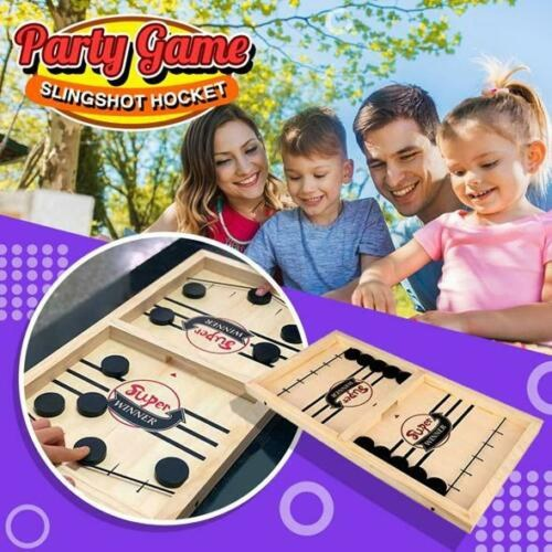 Bouncing Chess Hockey Game Slingshot Board Game Parent-Child Interactive Game 2-Player Desktop Games Tabletop Game Indoor Party Game