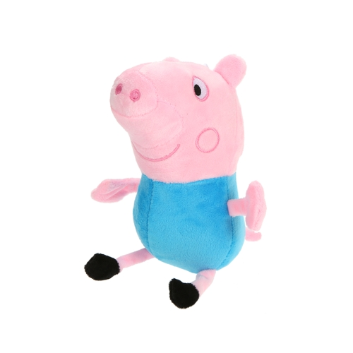 Cute Peppa Family Pig Plush Stuffed Toys with Lovely Handbag Family Party Dolls Kids Birthday Gifts