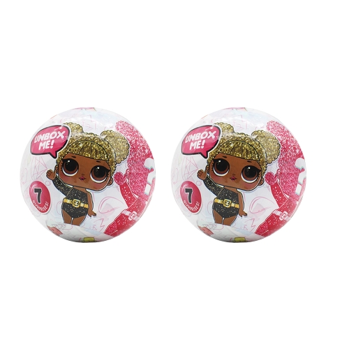 2Pcs L.O.L surprise doll Limited Edition Glitter Collection Series