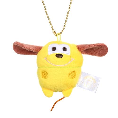 Cute Cartoon Bear Pig Elephant Doll Toys Mini Plush Dolls Stuffed Toys Kids Birthday Gift Keychain