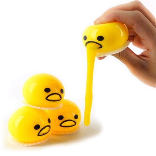 3шт Смешные Мяч Симпатичные Мягкие Яйцо Стресс помощи Шутка подарок