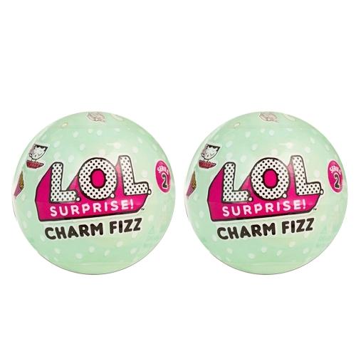 2Pcs LOL Surprise Charm Fizz Series 2