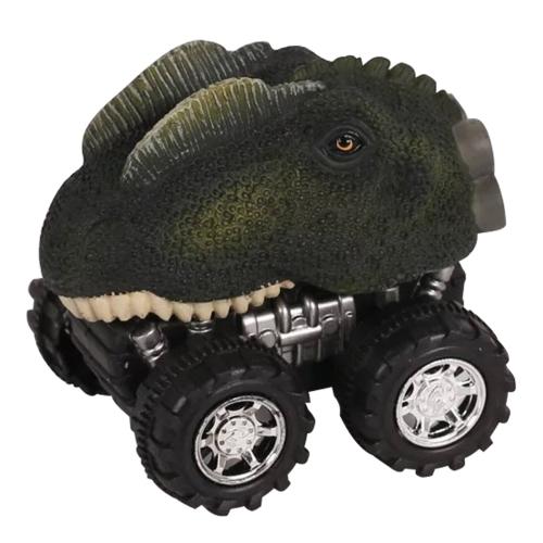 Mini Dinosaur Car Toy Spring Pull Back Car Model Vehicle Toy