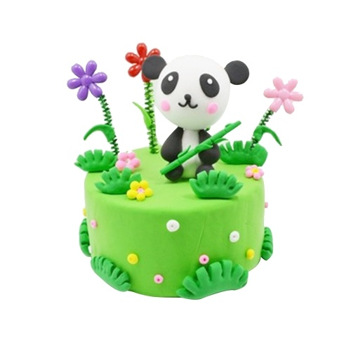 Environmental Light Clay Handmade Cake Kit Colorful Modelling Clay DIY Craft Soft Children Gift Toy