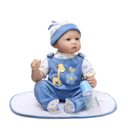 22in Reborn Baby Rebirth Doll Kids Gift Materiale materiale per il corpo